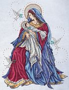 Madonna and Child - Design Works Crafts Cross Stitch Kit