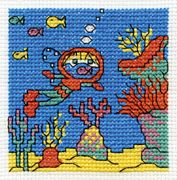 Go Deep Sea Diving - DMC Cross Stitch Kit