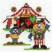 DMC A Trip to the Circus Cross Stitch Kit