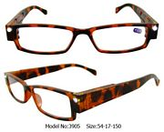 Tortoise Shell Illuminating LED Glasses 1x Magnification