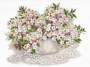 RIOLIS Cherry Blossom Cross Stitch Kit