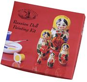 House of Crafts Russian Doll Painting Kit Craft Kit