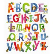 Vervaco Animal Alphabet Cross Stitch Kit