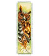 Vervaco Owl Bookmark Cross Stitch Kit