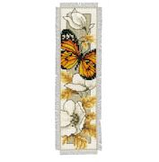 Butterfly 2 Bookmark - Vervaco Cross Stitch Kit