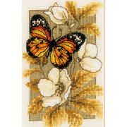 Butterfly 1 - Vervaco Cross Stitch Kit