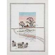 Derwentwater Designs Snowy Sheep Cross Stitch Kit