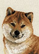 RIOLIS Japanese Husky Cross Stitch Kit