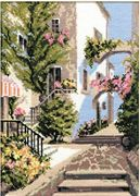 RIOLIS The Italian Courtyard Cross Stitch Kit