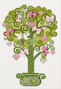 RIOLIS Tree of Happiness Cross Stitch Kit