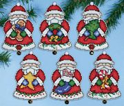 Design Works Crafts Santas Gifts Ornaments Cross Stitch Kit