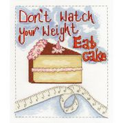 DMC Eat Cake Cross Stitch Kit