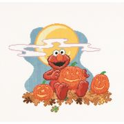 Thea Gouverneur Sesame Street Halloween Cross Stitch Kit