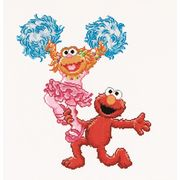Thea Gouverneur Sesame Street Dancing Cross Stitch Kit