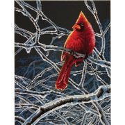 Dimensions Ice Cardinal Cross Stitch Kit