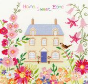Bothy Threads Home Sweet Home Cross Stitch Kit