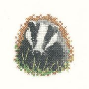 Heritage Badger - Evenweave Cross Stitch Kit