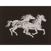 Running Horses - Permin Cross Stitch Kit
