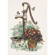 Waterpump - Permin Cross Stitch Kit
