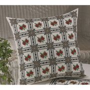 Permin Red Roses Cushion Cross Stitch Kit