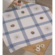 Cupcakes Tablecloth - Permin Cross Stitch Kit