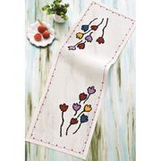 Permin Tulips Runner Cross Stitch Kit
