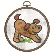Dog - Permin Cross Stitch Kit