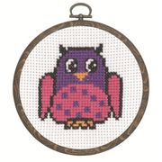 Owl - Permin Cross Stitch Kit