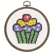Cupcake - Permin Cross Stitch Kit