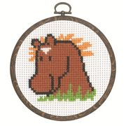 Horse - Permin Cross Stitch Kit