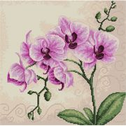 Luca-S Orchid Cross Stitch Kit