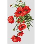 Poppies - Luca-S Cross Stitch Kit