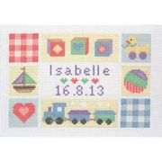 Baby Sampler - Anchor Cross Stitch Kit