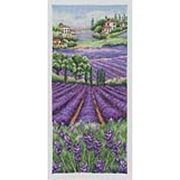 Provence Lavender Landscape - Anchor Cross Stitch Kit