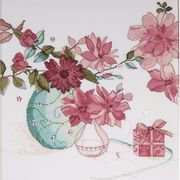 Pastel Floral - Design Works Crafts Cross Stitch Kit