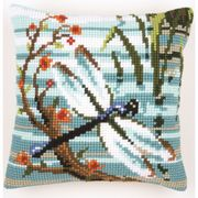 Dragonfly Cushion - Vervaco Cross Stitch Kit