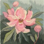 Derwentwater Designs Peony Long Stitch Kit