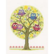 The Owls Have It - Vervaco Cross Stitch Kit