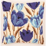 Vervaco Crocus Cushion Cross Stitch Kit