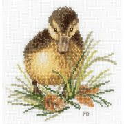 Lanarte Duckling 1 Cross Stitch Kit