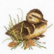 Lanarte Duckling 2 Cross Stitch Kit