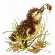 Lanarte Duckling 3 Cross Stitch Kit