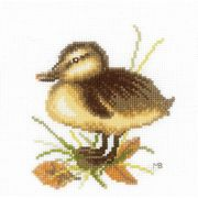 Lanarte Duckling 4 Cross Stitch Kit