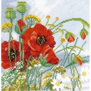 Lanarte Poppies - Evenweave Cross Stitch Kit