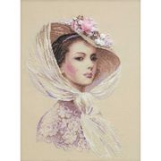 RIOLIS Lilac Evening Cross Stitch Kit