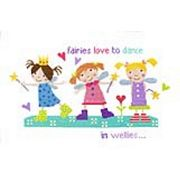 Fairies in Wellies - Stitching Shed Cross Stitch Kit