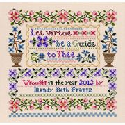Let Virtue be a Guide - Janlynn Cross Stitch Kit