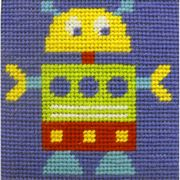 Robot - Stitching Shed Tapestry Kit