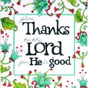 Design Works Crafts Give Thanks Cross Stitch Kit