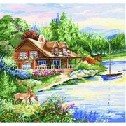 Design Works Crafts Lakeside Cross Stitch Kit